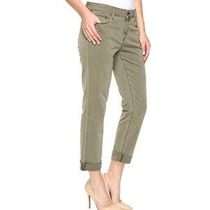PAIGE Brigitte Boyfriend Skinny Ankle Cuff Jeans